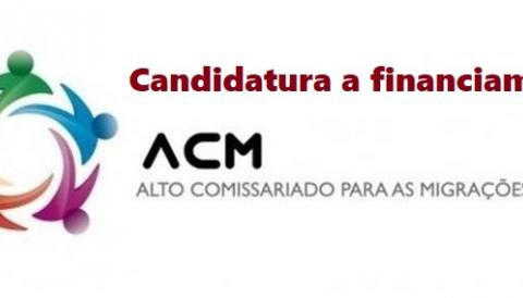 Candidatura a financiamento no âmbito do FAMI
